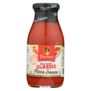 Paesana Classic Pizza Sauce - Serve Jar - Case Of 6 - 8.5 Oz.