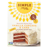 Simple Mills Almond Flour Vanilla Cake Mix - Case Of 6 - 11.5 Oz.