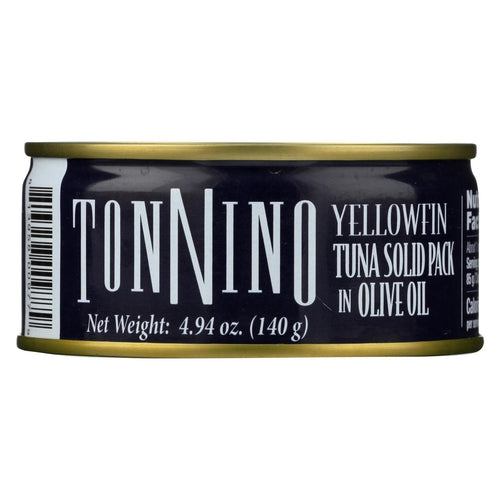Tonnino Tuna Light - Olive Oil - Case Of 12 - 4.9 Oz.