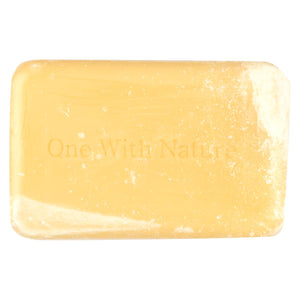 One With Nature Bar Soap - Lemon - Case Of 6 - 4 Oz.