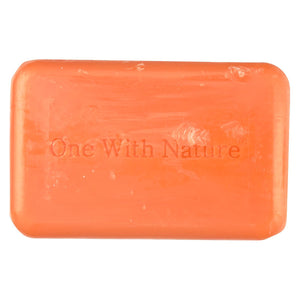 One With Nature Bar Soap - Orange Blossom - Case Of 6 - 4 Oz.