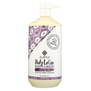 Alaffia - Everyday Lotion - Lavender - 32 Oz.