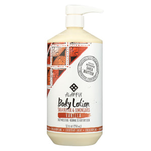 Alaffia - Everyday Lotion - Shea Vanilla - 32 Oz.