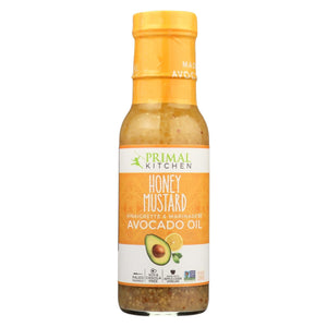 Primal Kitchen Vinagrette - Honey Mustard - Case Of 6 - 8 Oz.