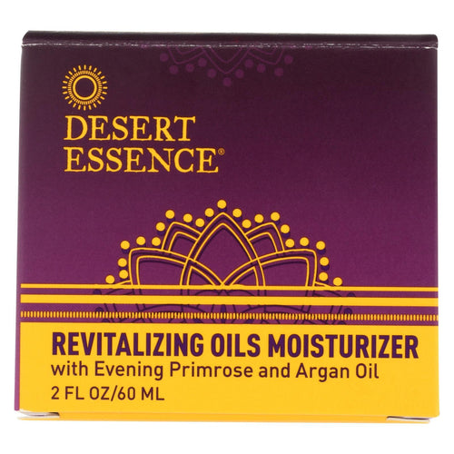 Desert Essence Revitalizing Oils Moisturizer - 2 Fl Oz.