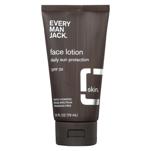 Every Man Jack Face Lotion - Spf 15 - 2.5 Oz.