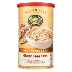 Nature's Path Organic Oats - Old Fashioned - Case Of 6 - 18 Oz.