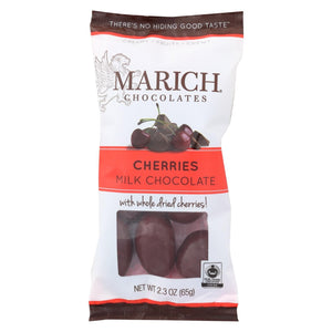 Marich Chocolate Cherries - Case Of 12 - 2.3 Oz