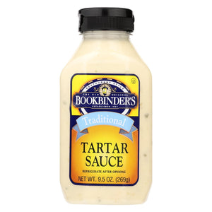Bookbinder's Tartar Sauce - Traditional - Case Of 9 - 9.5 Oz.