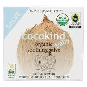 Cocokind Soothing Salve - Organic - Case Of 1 - 60 Ml