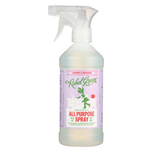 Rebel Green - All-purpose Spray - Lavender And Grapefruit - Case Of 4 - 16 Fl Oz.