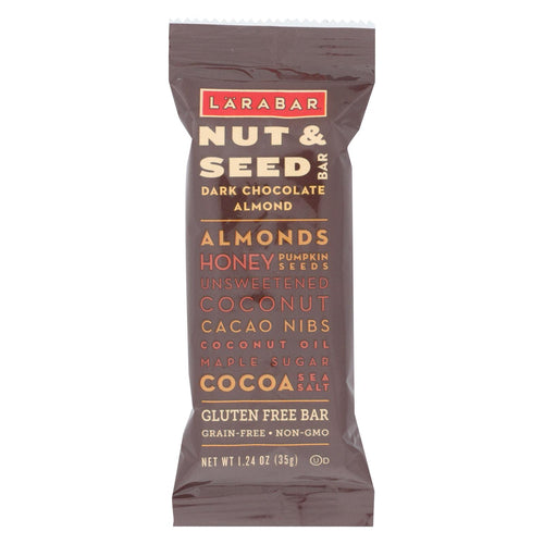 Larabar - Nut And Seed Bar - Dark Chocolate Almond - Case Of 15 - 1.24 Oz.