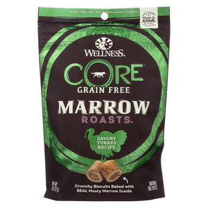 Wellness Core Dog Food - Marrow Roasts Savory Turkey Recipe - Case Of 8 - 8 Oz.
