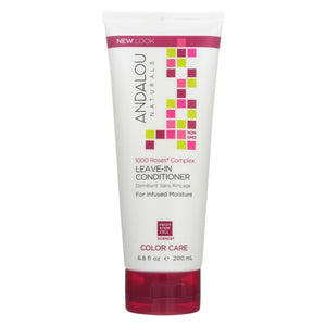 Andalou Naturals Color Care Leave-in Conditioner -1000 Roses Complex - 6.8 Fl Oz