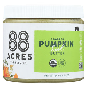88 Acres Seed Butter - Pumpkin - Case Of 6 - 14 Oz.