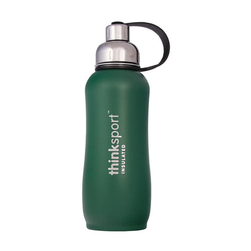 Thinksport  25oz (750ml) Insulated Sports Bottle - Green
