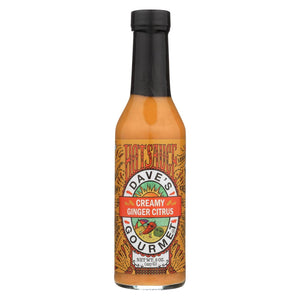 Dave's Gourmet - Hot Sauce - Creamy Ginger Citrus - Case Of 6 - 8 Fl Oz