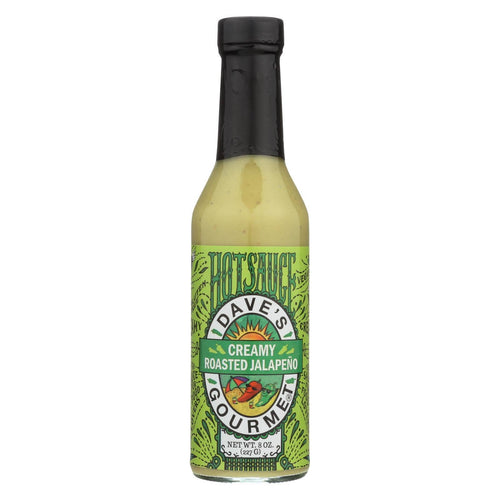 Dave's Gourmet - Hot Sauce - Creamy Roasted Jalapeno - Case Of 6 - 8 Fl Oz
