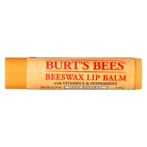 Burts Bees - Lip Balm - Beeswax - Tube - 36 Count