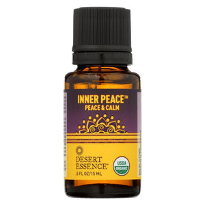 Desert Essence Essential Oil - Inner Peace - Case Of 1 - .5 Fl Oz.