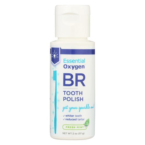 Essential Oxygen Tooth Polish - Mint - Case Of 1 - 2 Oz.