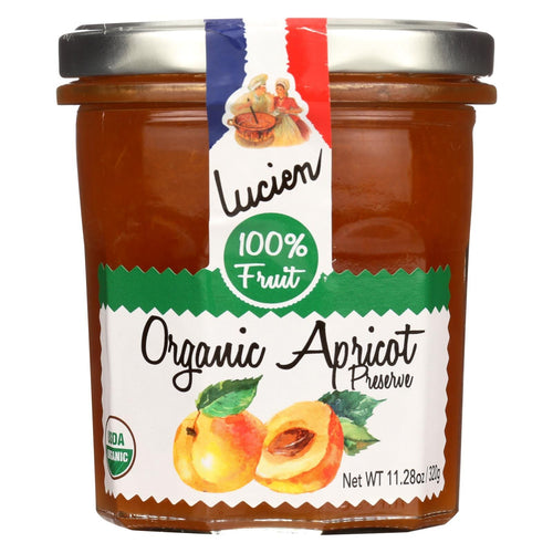 Lucien Georgelin Fruit Spread - Organic - Apricot - Case Of 6 - 11.28 Oz