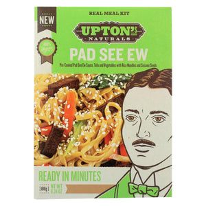 Upton's Naturals Meal Kit - Pad See Ew - Case Of 6 - 6.34 Oz