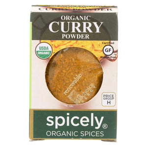 Spicely Organics - Organic Curry Powder - Case Of 6 - 0.45 Oz.