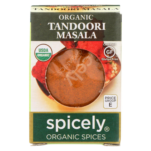 Spicely Organics - Organic Tandoori Masala Seasoning - Case Of 6 - 0.45 Oz.