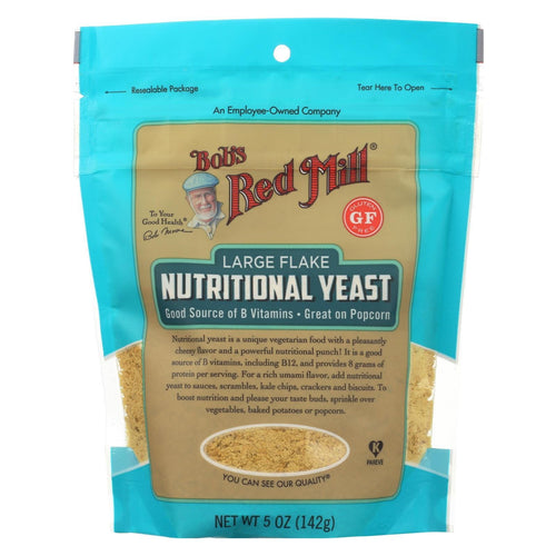 Bob's Red Mill - Yeast Nutritional L Flake - Case Of 6-5 Oz