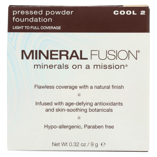 Mineral Fusion - Pressed Powder Foundation - Cool 2 - 0.32 Oz.