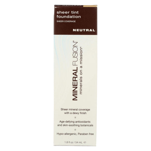 Mineral Fusion - Sheer Tint Mineral Foundation - Neutral - 1.8 Oz.