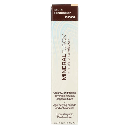 Mineral Fusion - Liquid Mineral Concealer - Cool - 0.37 Oz.