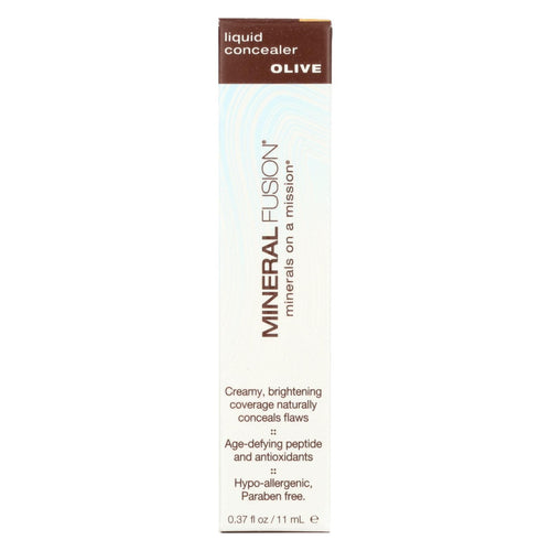 Mineral Fusion - Liquid Mineral Concealer - Olive - 0.37 Oz.