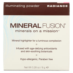 Mineral Fusion - Makeup Radiance Illuminating Powder - 0.29 Oz.