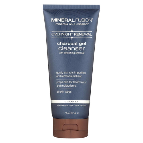 Mineral Fusion - Charcoal Gel Cleanser - 7 Fl Oz.