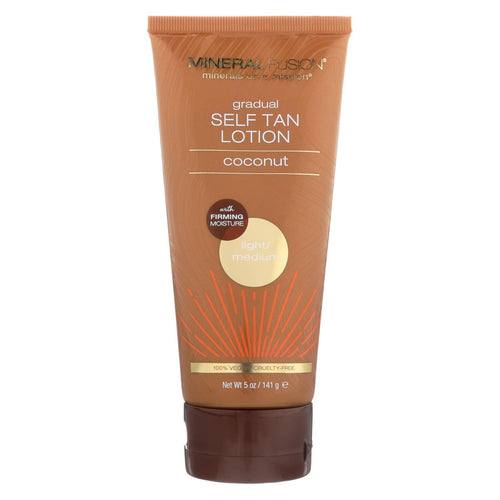 Mineral Fusion - Gradual Self Tan Lotion - Light-medium - 5 Oz.