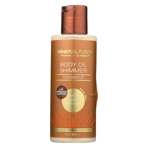 Mineral Fusion - Body Oil Shimmer - Gold - 3 Fl Oz.