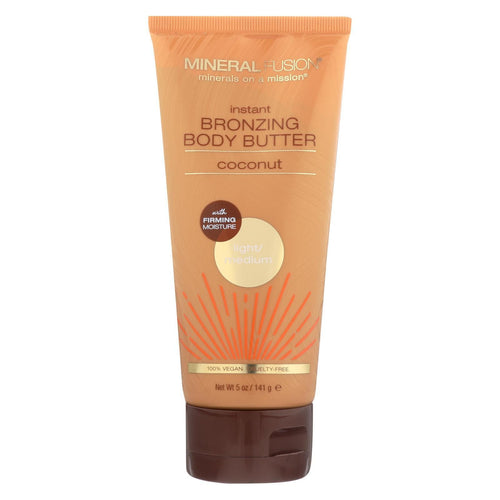 Mineral Fusion - Instant Bronzing Body Butter - Light-medium - 5 Oz.