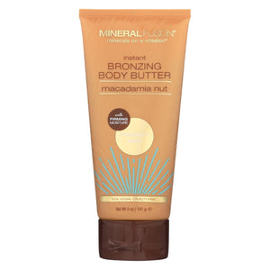 Mineral Fusion - Instant Bronzing Body Butter - Medium-dark - 5 Oz.