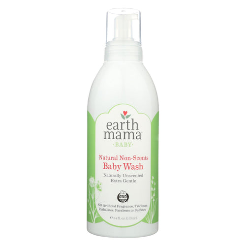 Earth Mama - Baby Wash - Non-scented - 34 Fl Oz.