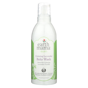 Earth Mama - Baby Wash - Calming Lavender - 34 Fl Oz.