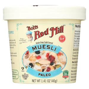 Bob's Red Mill - Muesli Cup - Paleo - Case Of 12 - 1.41 Oz.