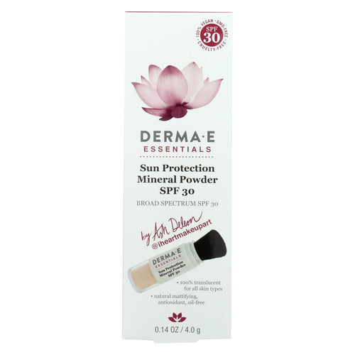 Derma E - Sunscreen - Ash Deleon - Case Of 1 - .14 Oz.