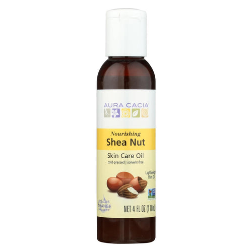 Aura Cacia - Body Oil - Shea Nut - Case Of 1 - 4 Fl Oz.