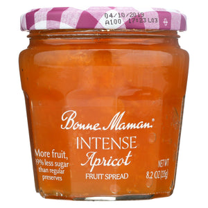 Bonne Maman Fruit Spread - Apricot Fruit Spread - Case Of 6 - 8.2 Oz.