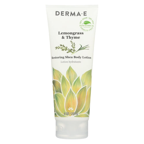 Derma E Lotion - Body Lotion - Case Of 1 - 8 Oz.