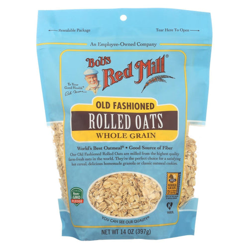 Bob's Red Mill - Old Fashioned Rolled Oats - Case Of 4-14 Oz.