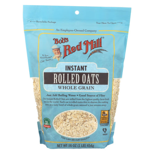 Bob's Red Mill - Instant Rolled Oats - Case Of 4-16 Oz.