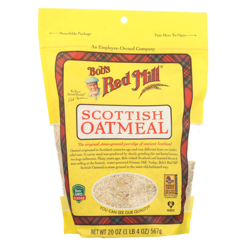 Bob's Red Mill - Scottish Oatmeal - Case Of 4-20 Oz